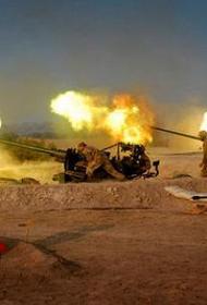 Артиллерия войск Дамаска открыла ураганный огонь по позициям джихадистов вблизи турецкой границы