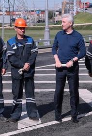 Собянин открыл автодорогу «Марьино – Саларьево» и выезд из Коммунарки на МКАД