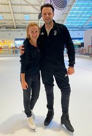Татьяна Волосожар начала тренироваться с новым партнёром