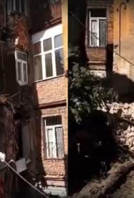 В Самаре обрушилась стена жилого дома