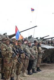 Начались совместные Армяно-российские военные учения