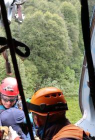Пропавшая тургруппа из 8 детей и 3 взрослых найдена в горах Сочи
