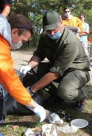 В Иркутской области при поддержке мэрии прошла экоакция «360» по уборке и озеленению территорий города