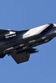 МиГ-31БМ ЦВО выполнили боевые пуски ракет в стратосфере на учениях в Забайкалье