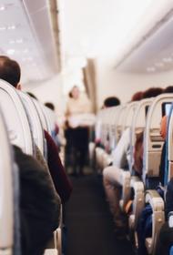В Японии самолет впервые совершил вынужденную посадку из-за отказавшегося надеть маску пассажира