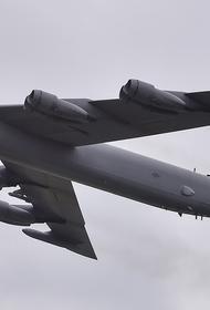 Опубликовано видео с пролетом по Украине стратегических бомбардировщиков США