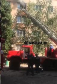 В пожаре в собственной квартире погиб 50-летний житель Тимашевска