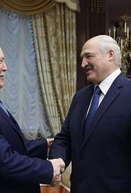 Посол РФ подарил Лукашенко карты XIX века с границами белорусских губерний