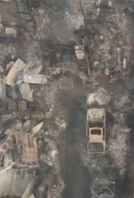 После Калифорнии пожар перекинулся на Орегон