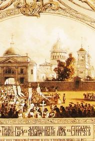 В Санкт-Петербурге отмечают день Александра Невского