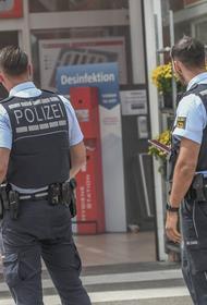 В Германии полиция разогнала актикоронавирусный митинг
