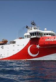 Судно «Орук рис» возвращается в Турцию