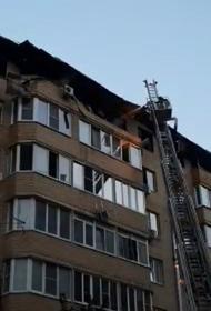 МЧС: При пожаре в Краснодаре пострадали 64 квартиры