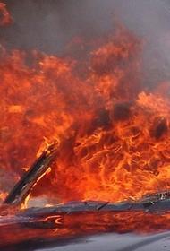 В ночь на понедельник в Калуге сгорели два автомобиля