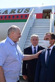 Губернатор Краснодарского края Кондратьев встречал в аэропорту в Сочи белорусского президента Лукашенко