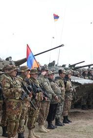 В Армении проходят совместные российско-армянские батальонные тактические учения