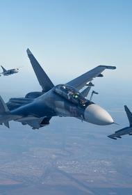 Российские ВКС провели самую масштабную с марта 2020-го атаку на боевиков в Сирии