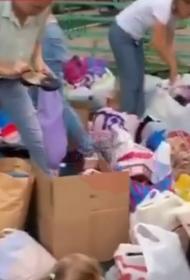 Краснодарские волонтеры просят помощи с сортировкой вещей для погорельцев