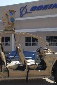 ВВС США испытали перспективное лазерное оружие, предназначенное для борьбы с дронами