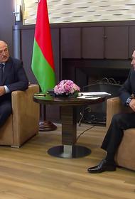 Песков раскрыл детали переговоров Путина и Лукашенко в Сочи