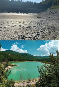 Воды из Церковного озера для снабжения Геленджика хватило на месяц