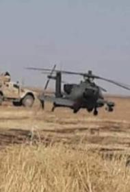 Вертолет США, совершивший аварийную посадку в Сирии, благополучно вернулся на базу