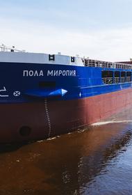 На «Красном Сормове» прошел спуск на воду 20-го в текущем году судна, которое построил завод. Им стал сухогруз «Пола Миропия»