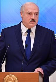 Лукашенко заявил, что главным агрессором по отношению к Белоруссии являются США