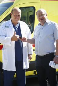 На Кубани автопарк службы «скорой помощи» пополнился новыми спецавтомобилями