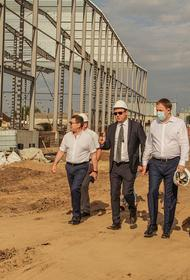 Губернатор Кубани оценил реализацию новых инвеспроектов в Кореновском районе