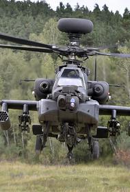 США устроили провокацию против военных России в Сирии с помощью ударных вертолетов