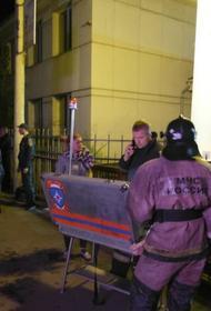 Частная наркологическая клиника «Чистый город»  в Красноярске, в которой ночью произошел пожар, находилась в жилом доме