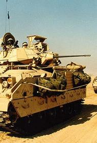 США намерены удержать российские войска от перехода на территорию, контролируемую коалицией