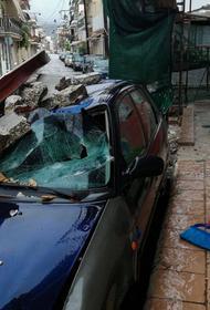 На Грецию обрушился ураган Янош