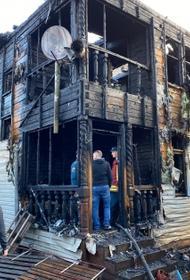 СК: Обнаружены тела женщины и ее 6-летней дочери после пожара в Красноярске