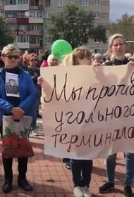 В Хабаровском крае жители протестуют против угольного терминала