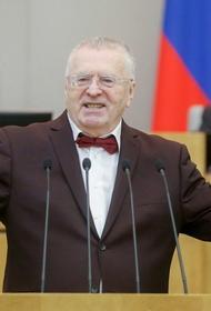 Жириновский призвал нанести удар по Украине с территории Белоруссии