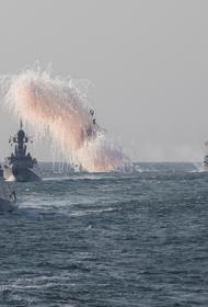 Основные силы Каспийской флотилии покинули базы и вышли в море