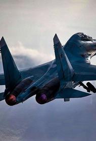 ТГ-канал «Военный обозреватель»: разбившийся Су-30СМ мог быть сбит своим же истребителем