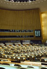 Эксперт Солонников назвал  интригу 75-й Генассамблеи ООН