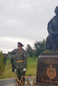 Памятник Суворову открыли к 290-летию полководца во Владимирской области