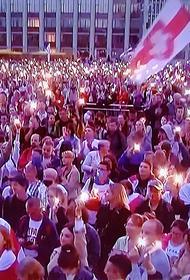 В Белоруссии марш протеста вышел на центральный проспект столицы