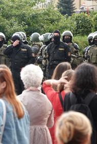 В МВД Белоруссии сообщили об уменьшении числа участников акций протеста