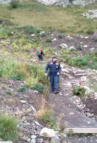 В Сочи в лесу заблудились туристы