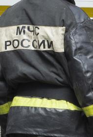 В Новосибирске пожар вспыхнул в гостинице и торговом центре