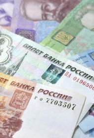 Украинская гривна окрепла по отношению к российскому рублю