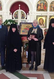 Храму святого благоверного князя Андрея Боголюбского принесена  в дар икона святого мученика Иоанна-воина