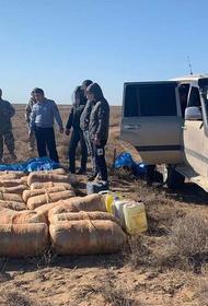 В Казахстане задержали машину с 700 килограммами наркотиков