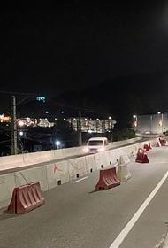 В Сочи во время ремонта моста изменится схема проезда