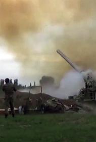 Азербайджанская артиллерия открыла по позициям армянских войск ураганный огонь